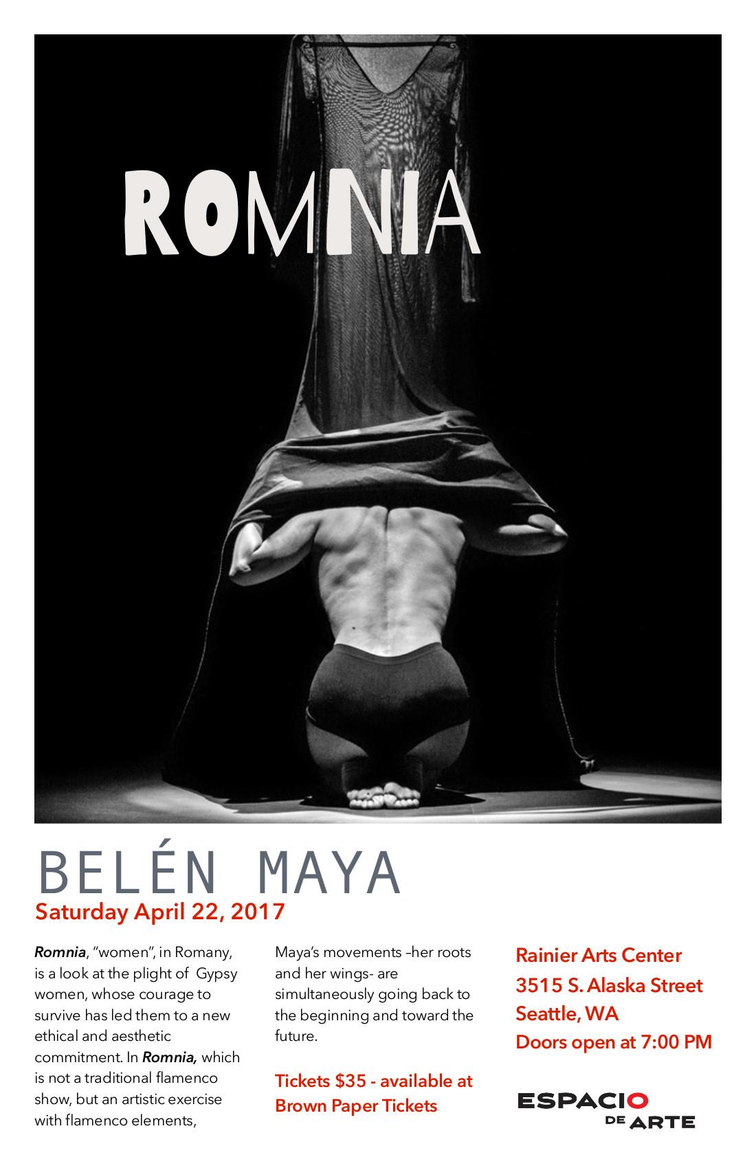 Espacio de Arte presents ROMNIA @ Rainier Arts Center | Seattle | Washington | United States