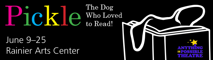 Pickle: The Dog Who Loved to Read! @ Rainier Arts Center | Seattle | Washington | United States