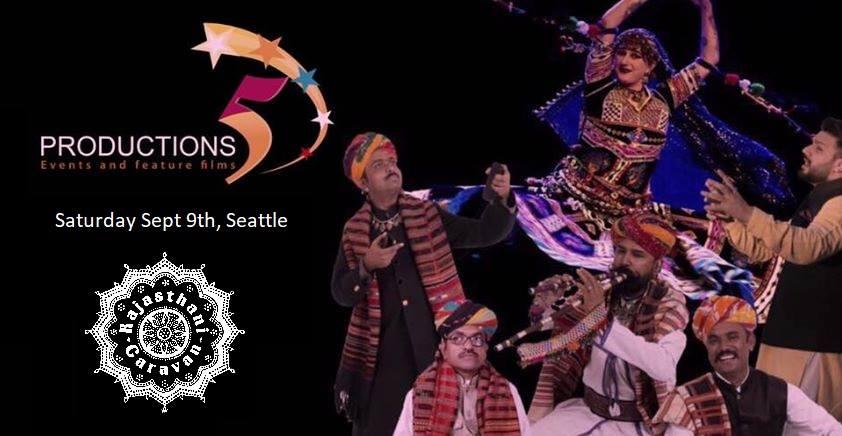 Rajasthani Caravan: Seattle Show @ Rainier Arts Center