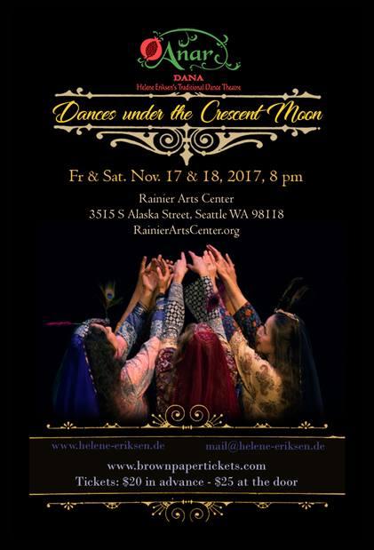 Dances Under the Crescent Moon @ Rainier Arts Center | Seattle | Washington | United States
